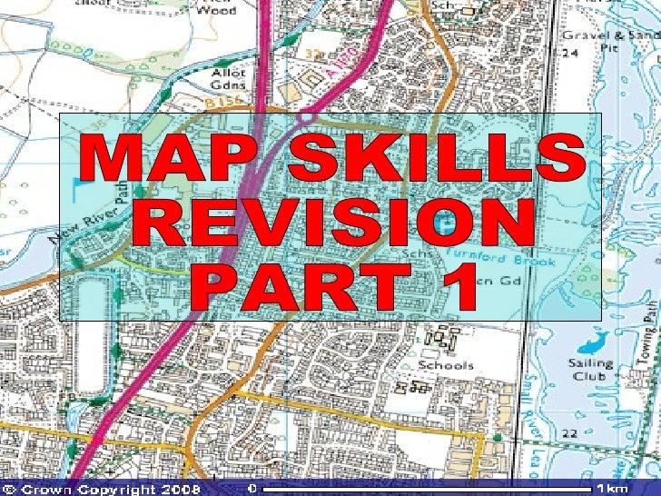 MAP SKILLS  REVISION  PART 1