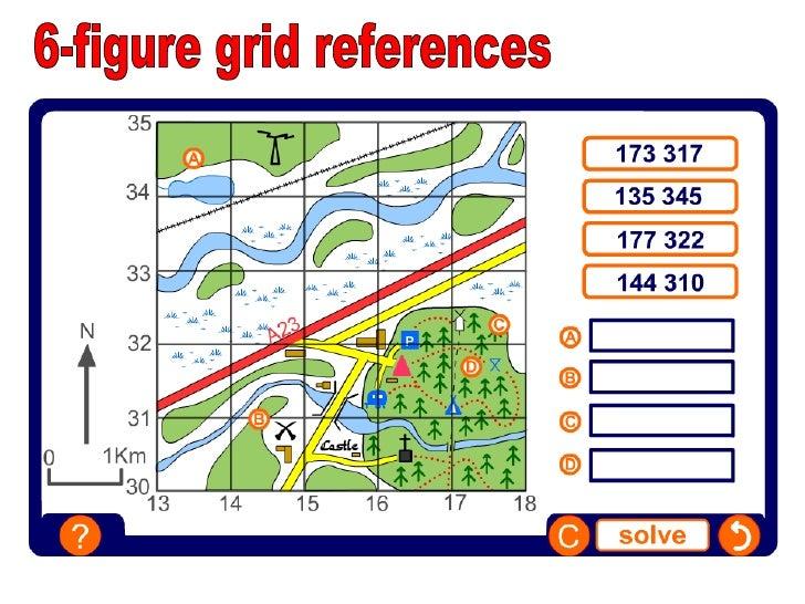 11 4 figure grid references 12 6 figure grid references