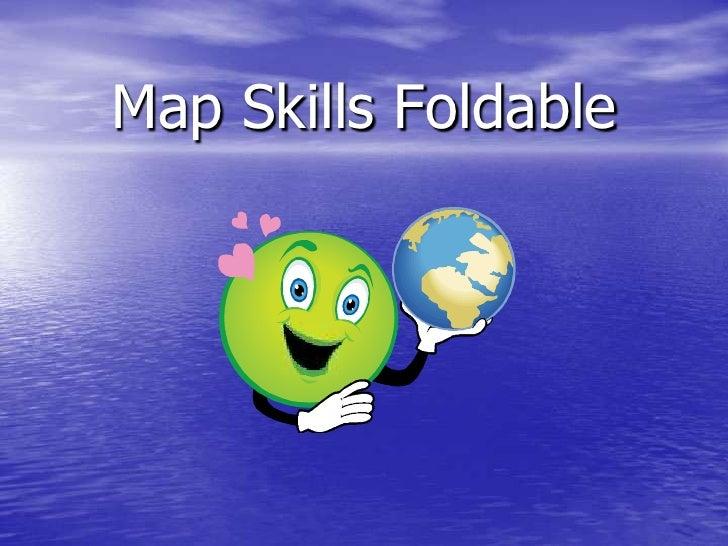 Map Skills Foldable<br />