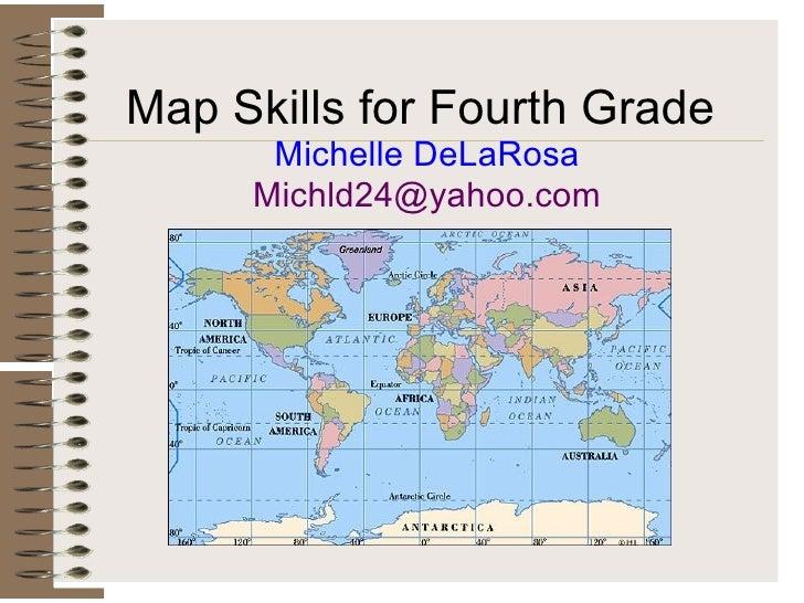 Map Skills Web Quest