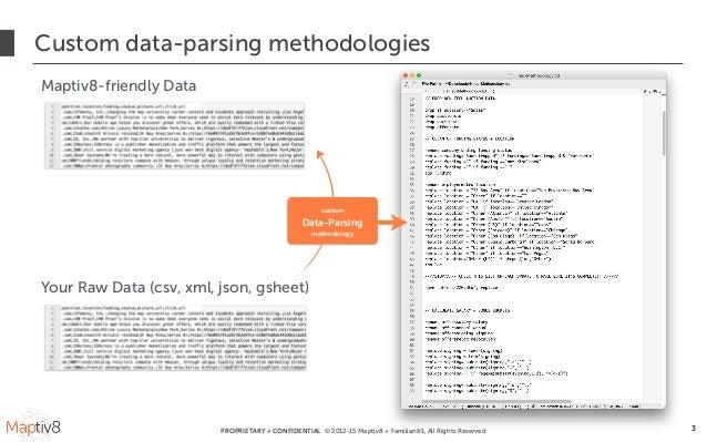 Maptiv8: Big Data Made Beautiful Slide 3