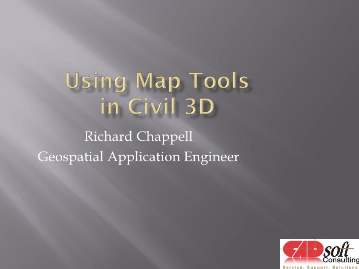 Richard Chappell Geospatial Application Engineer