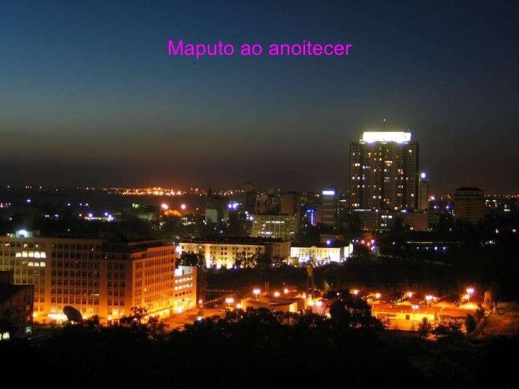 Maputo ao anoitecer