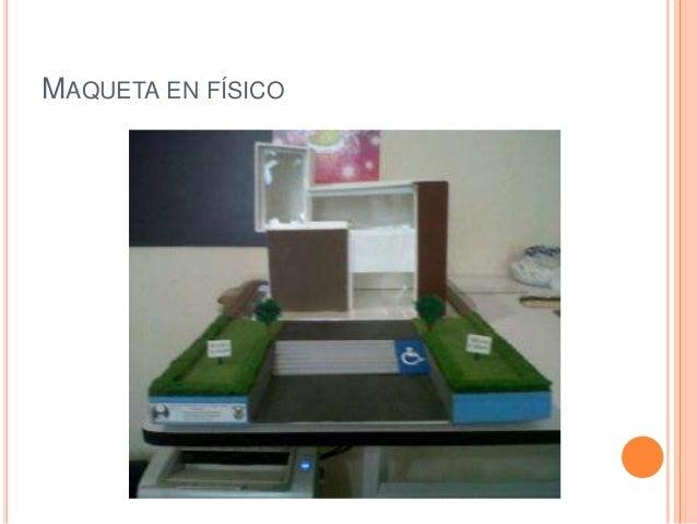 Maqueta despacho de arquitectos Slide 2