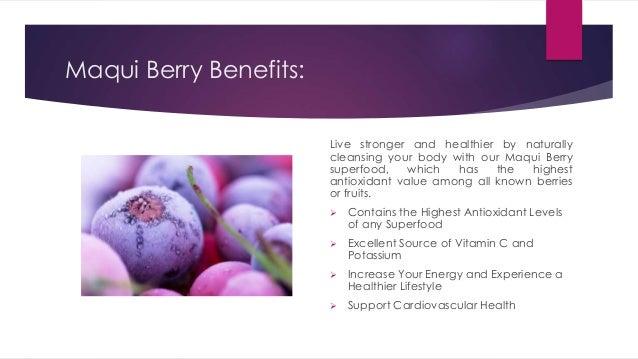 Maqui Berry Natural Detox