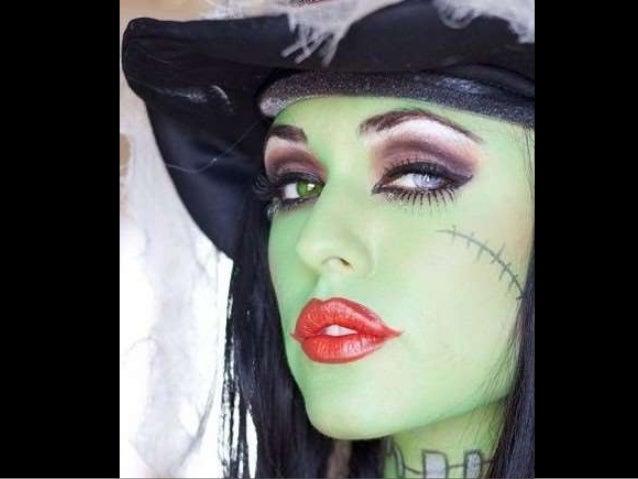maquillaje bruja paso a paso 9 - Maquillaje Bruja
