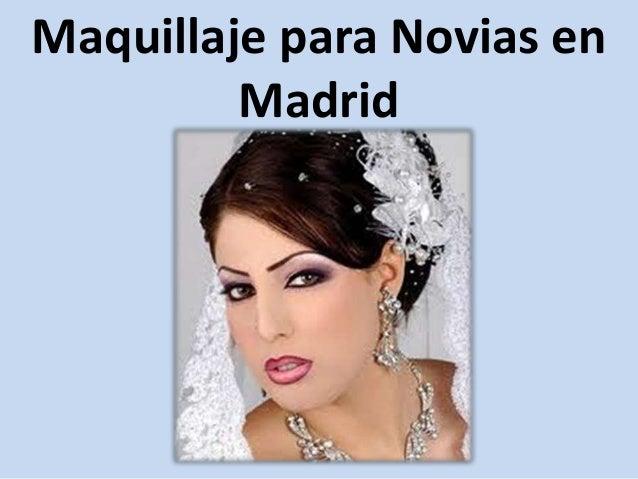 Maquillaje para Novias en Madrid