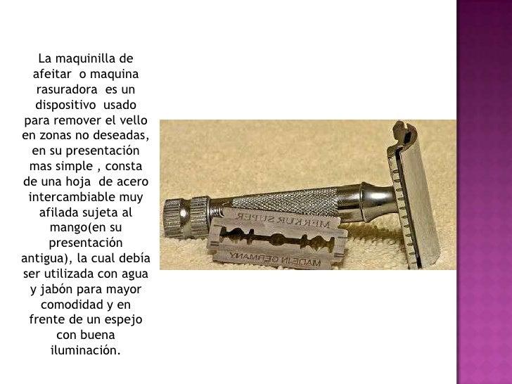 La maquinilla de afeitar ... 126be2337810
