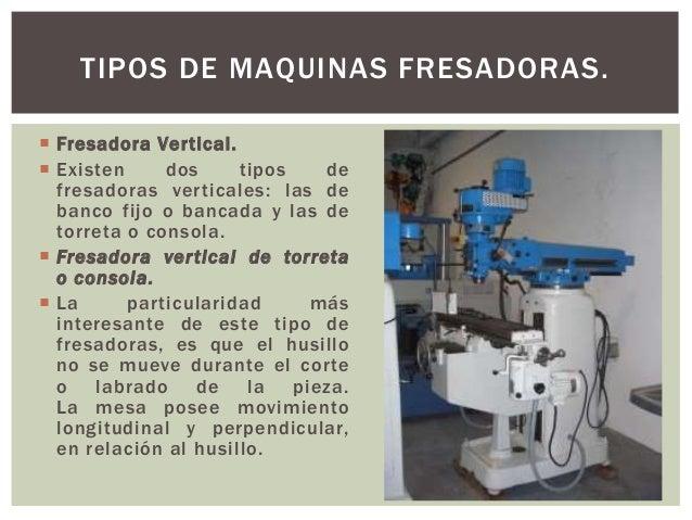 Maquina fresadora cbtis6 for Consola de tipo industrial