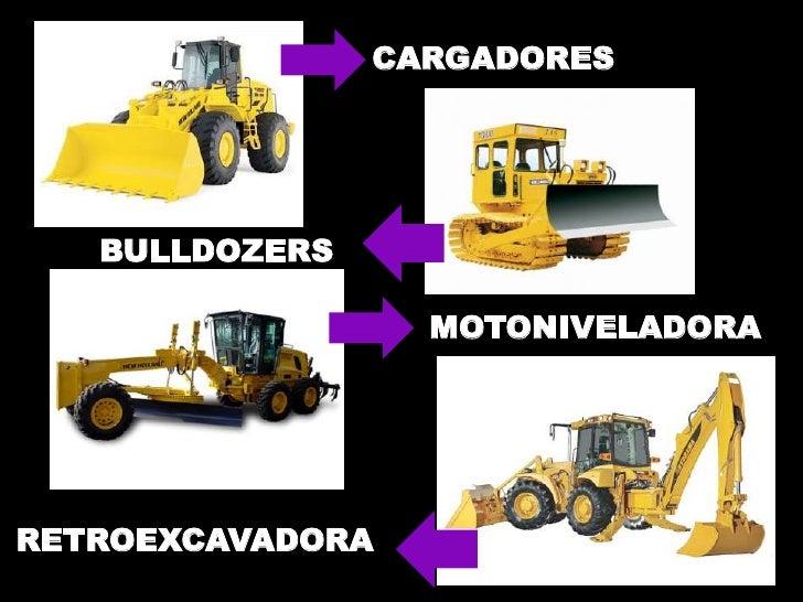 CARGADORES            MISION   BULLDOZERS                  MOTONIVELADORARETROEXCAVADORA