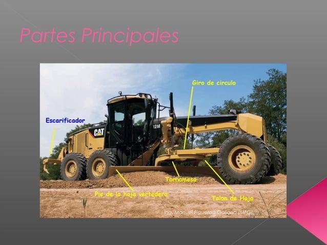 Partes Principales Ing. Manuel Figueroa Galiano (MFG)
