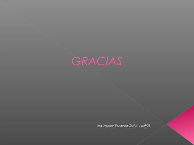 GRACIAS Ing. Manuel Figueroa Galiano (MFG)