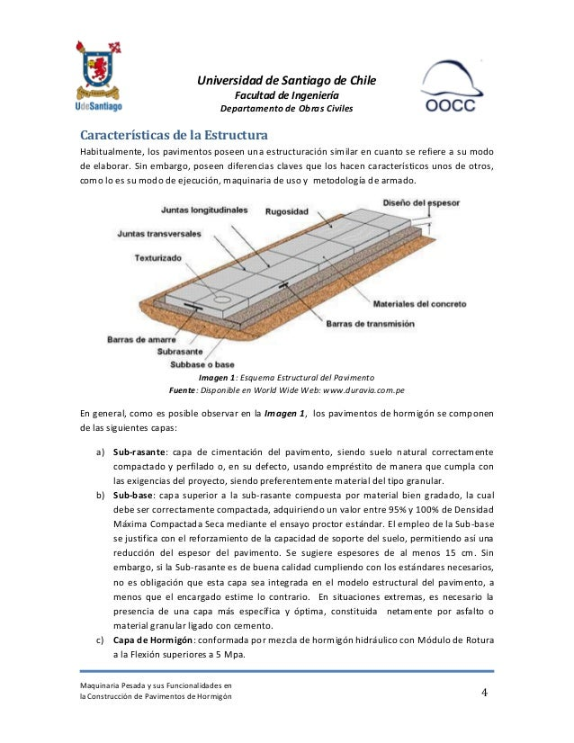 Maquinaria pavimentos de hormig n for Pavimentos de hormigon