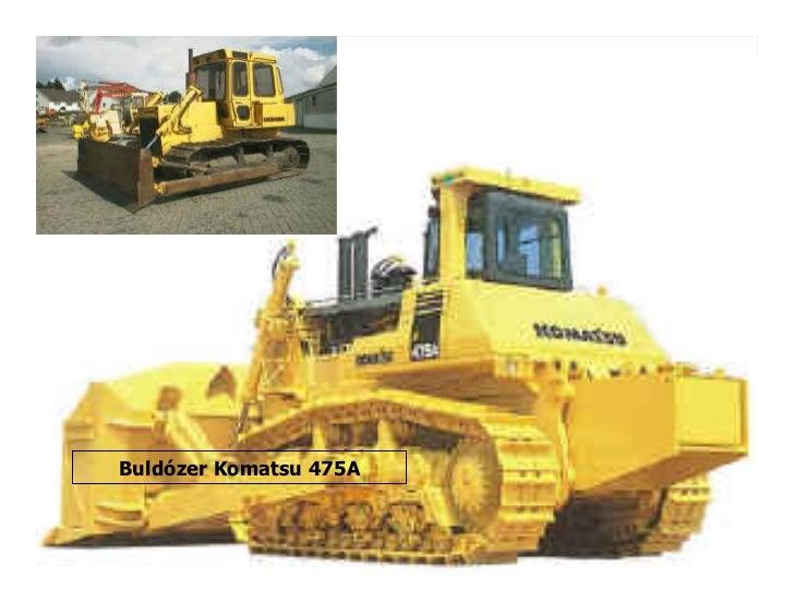 Buldózer Komatsu 475A
