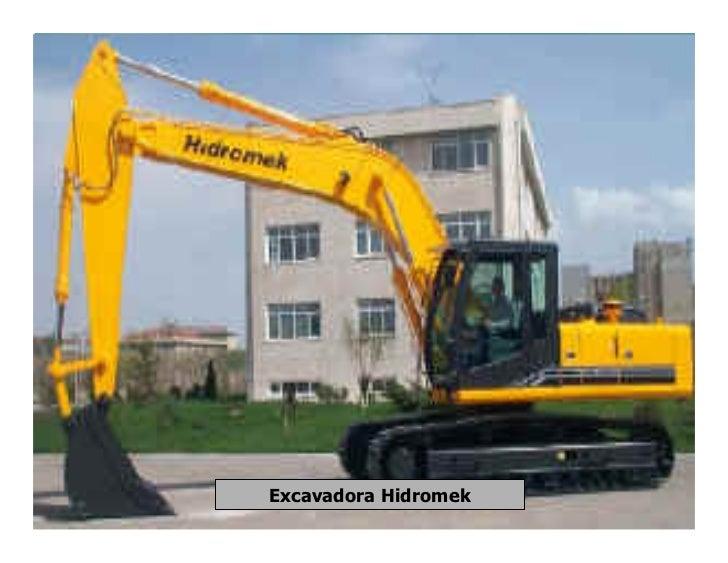 Excavadora Hidromek