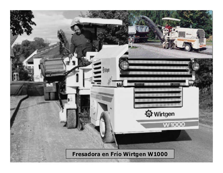 Fresadora en Frío Wirtgen W1000