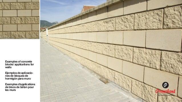 Maquinas bloqueras posibilidades de aplicaci n de los - Muro de bloques ...