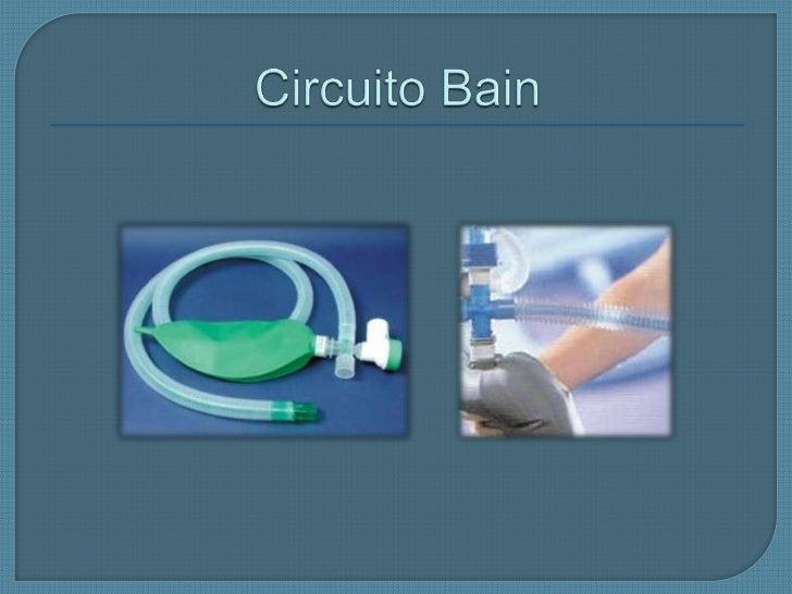 Circuito Bain : Maquinas de anestesia