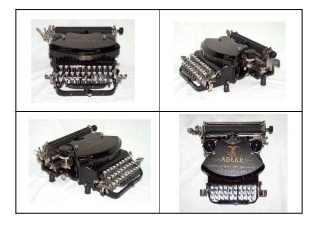Restauracion de maquinas de escribir antiguas www.informaticapadilla.es