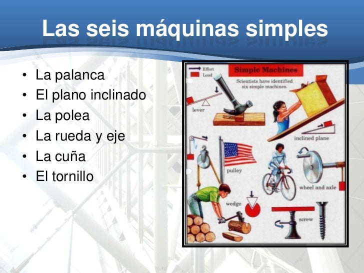 Maquinas simples AlACiMa