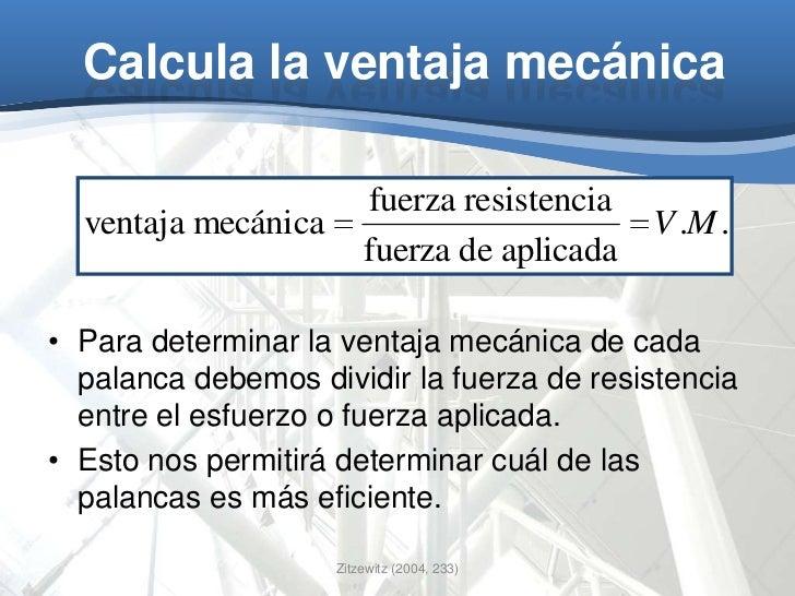 Famoso Máquinas Simples Y Hoja De Ventaja Mecánica Modelo - hojas ...