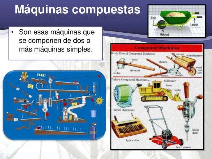 Maquinas Compuestas