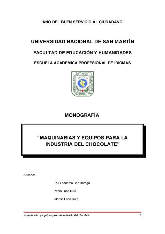 """""""AÑO DEL BUEN SERVICIO AL CIUDADANO"""" UNIVERSIDAD NACIONAL DE SAN MARTÍN FACULTAD DE EDUCACIÓN Y HUMANIDADES ESCUELA ACADÉM..."""