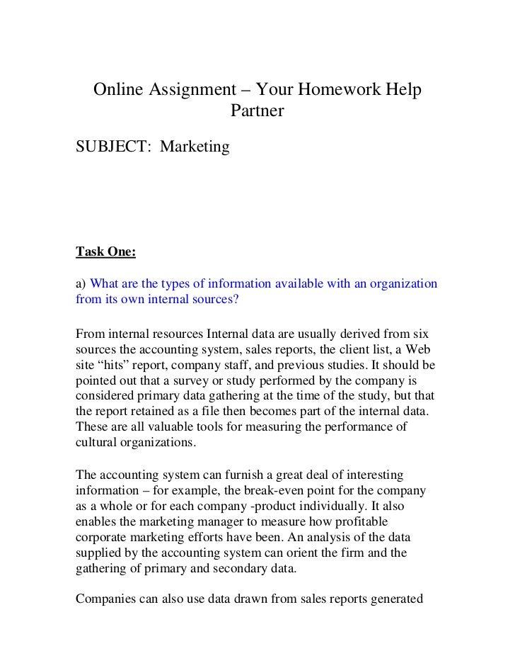 Get international marketing assignment help
