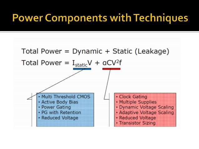 Advanced Low Power Techniques in Chip Design