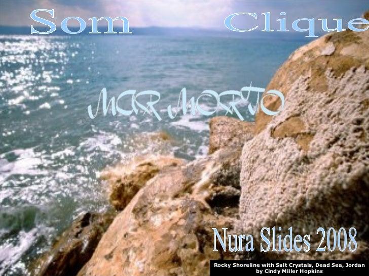 Rocky Shoreline with Salt Crystals, Dead Sea, Jordan by Cindy Miller Hopkins Nura Slides 2008 Clique Som