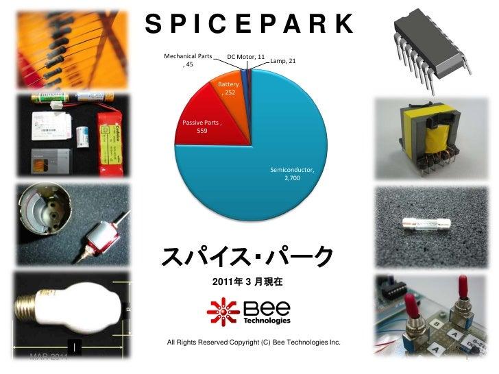 SPICEPARK           Mechanical Parts        DC Motor, 11                                                  Lamp, 21        ...