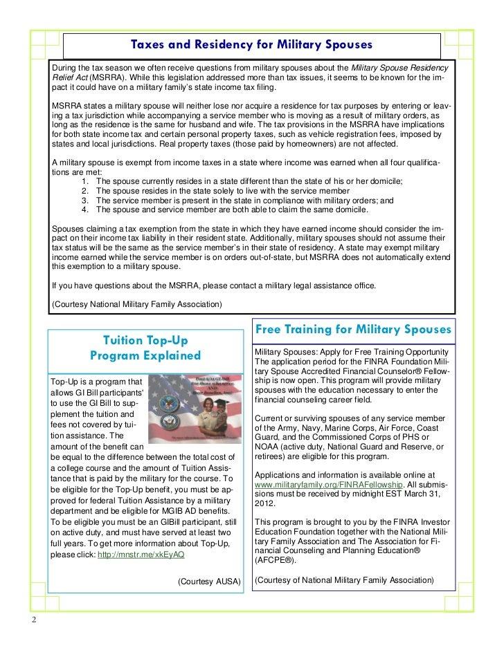 Mar 2012 1 ID Fort Riley Monthly Newsletter Slide 2