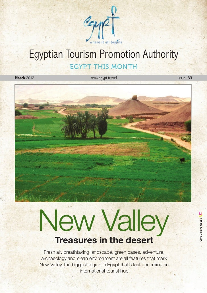 Egyptian Tourism Promotion Authority                           EGYPT THIS MONTHMarch 2012                            www.e...