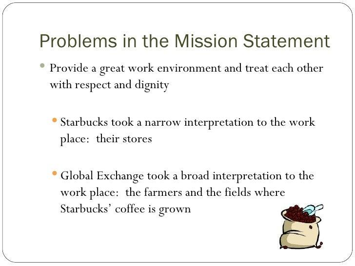 The problem with starbucks - Starbucks