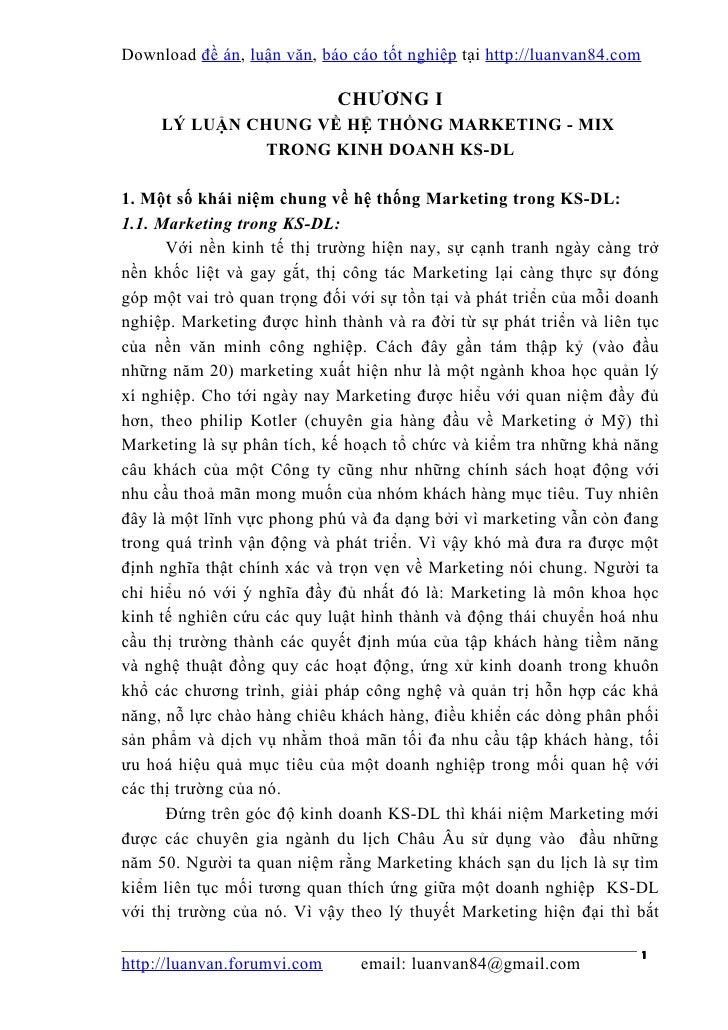 Download đề án , luận văn, báo cáo tốt nghiệp tại http://luanvan84.com                             CHƯƠNG I     LÝ LUẬN CH...