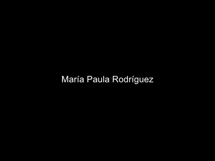 María Paula Rodríguez Cámara subjetiva