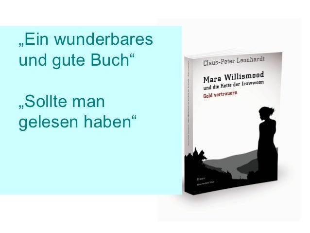 """""""Ein wunderbaresund gute Buch""""""""Sollte mangelesen haben"""""""
