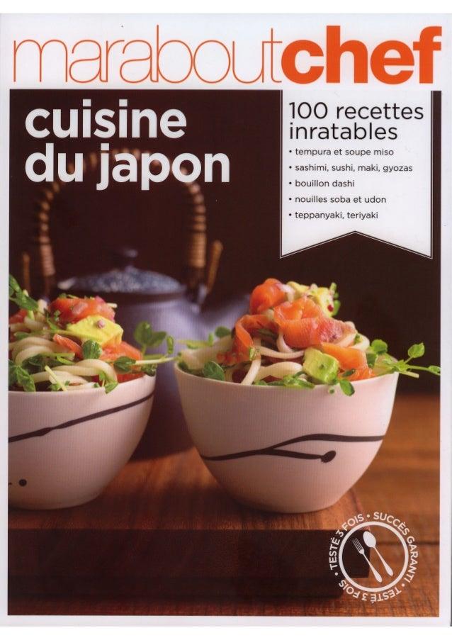 Marabout chef   cuisine du japon
