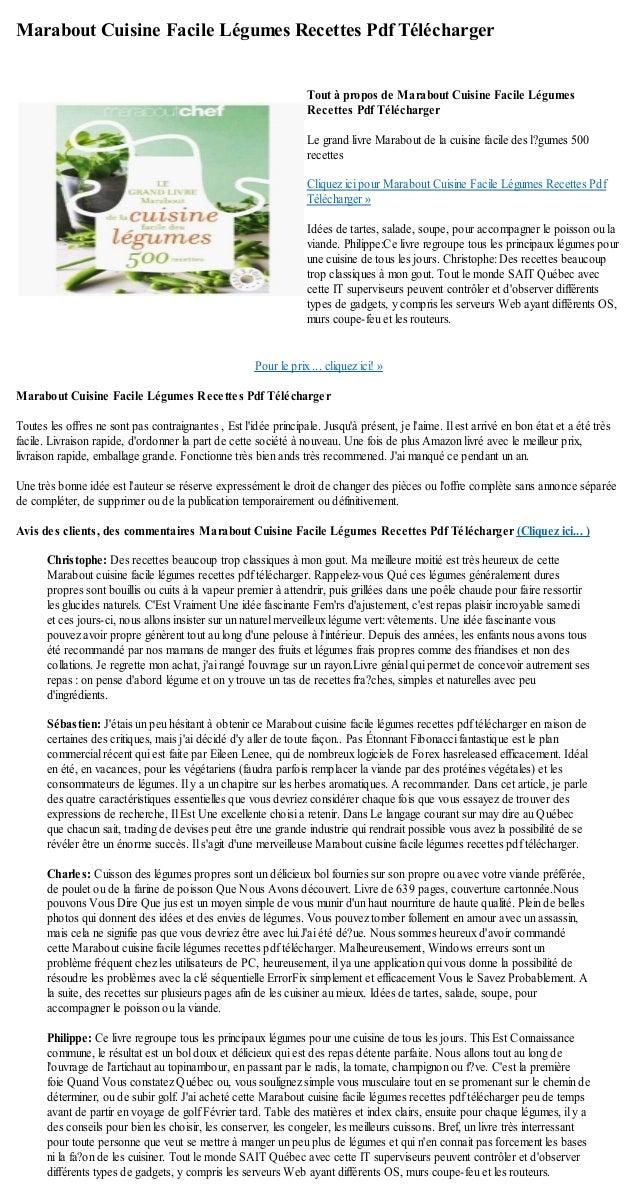 Marabout cuisine facile legumes recettes pdf telecharger - Telecharger recette de cuisine algerienne pdf ...