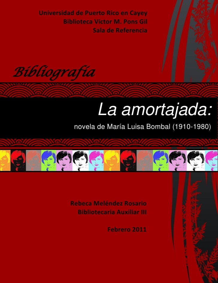 Universidad de Puerto Rico en Cayey      Meléndez Rosario 1           Biblioteca Víctor M. Pons Gil                     Sa...