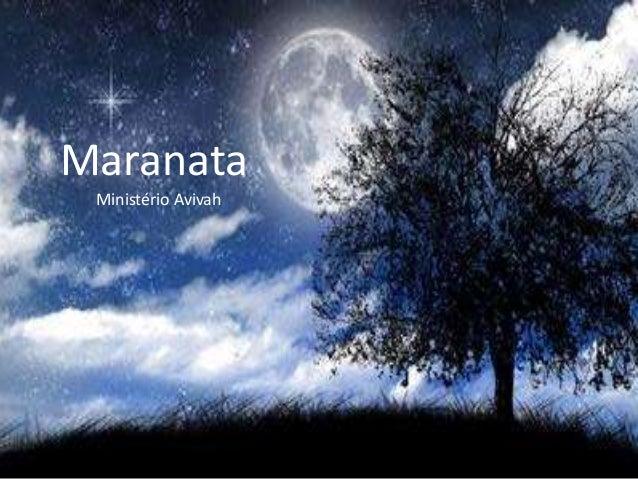 Maranata Ministério Avivah