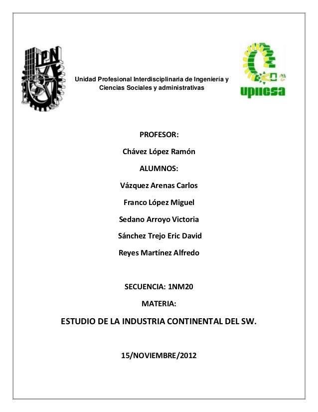 Unidad Profesional Interdisciplinaria de Ingeniería y          Ciencias Sociales y administrativas                        ...