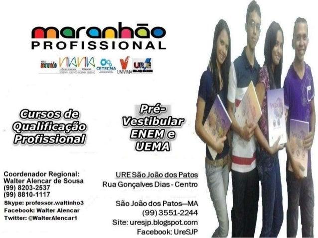Estes são os certificados do Curso de Auxiliar de Administração do CE Edison Lobão de São João dos Patos do período 2014.1...