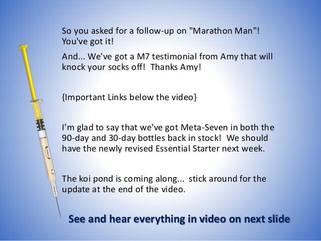Marathon Man Scalp/Neck Abscess Follow-Up! Slide 2