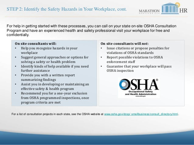 Marathonhr Workplace Safety Program