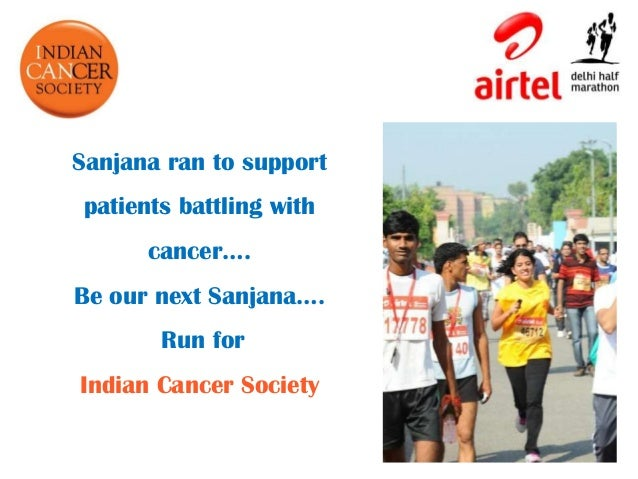 Airtel Delhi Half Marathon ppt 2013 Corporate's Challenge- Indian Ca…