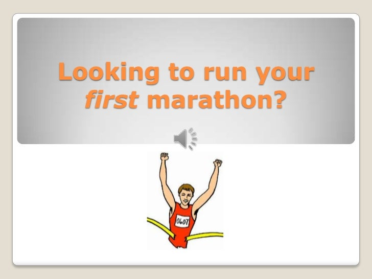 Looking to run your first marathon?<br />
