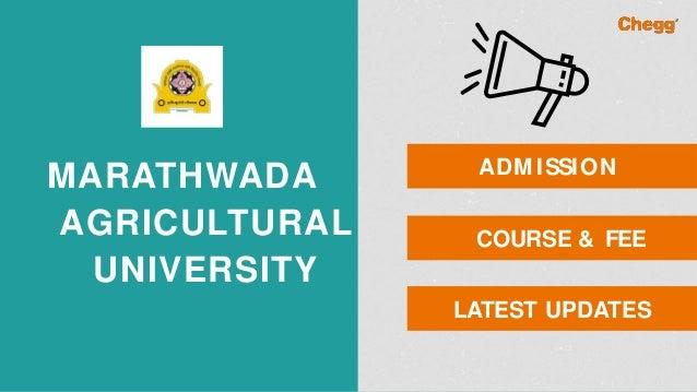 marathwada agriculture universityvnmkv parbhani 1 638