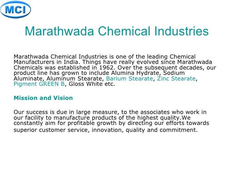 Marathwada Chemical Industries Marathwada Chemical Industries is one of the leading Chemical Manufacturers in India. Thing...