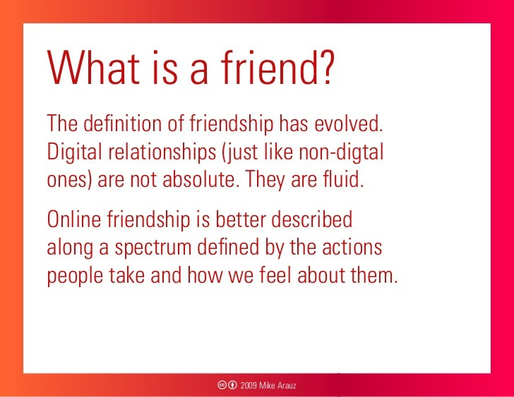 What is friendship essay